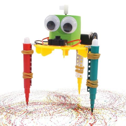Graffiti Robot Creativity Painting Kit - STEM Toys Best