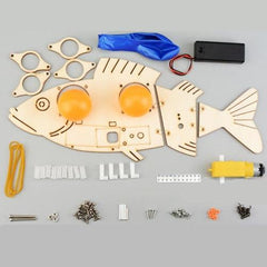 Bionics Electric Mechanical Fish Kit - STEM Toys Best
