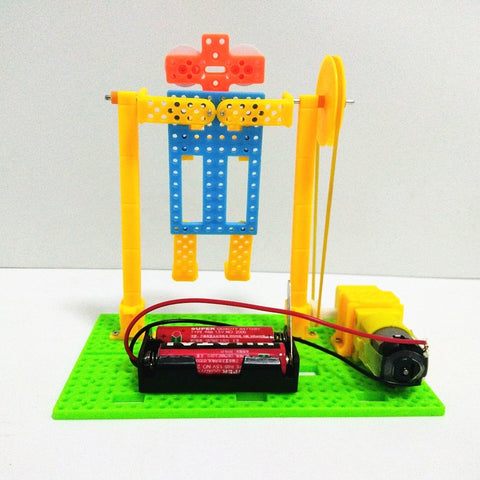 Electric Robot Horizontal Bar Kit - STEM Toys Best