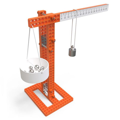Balance Scales with Weights Experiment Kit