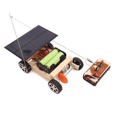 Solar Remote Control Car Kit - STEM Toys Best