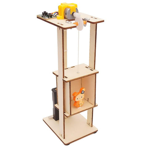 Elevator Physical Engineering Experiment Kit - STEM Toys Best
