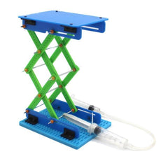 Hydraulic Plastic Platform Engineering Kit - STEM Toys Best