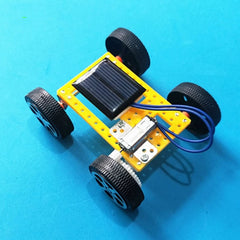 Mini Solar Panel Powered Car Kit - STEM Toys Best