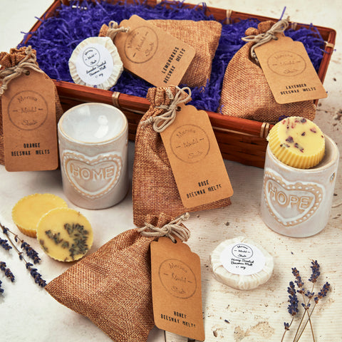 deluxe scented wax melts hamper gift for grandparents