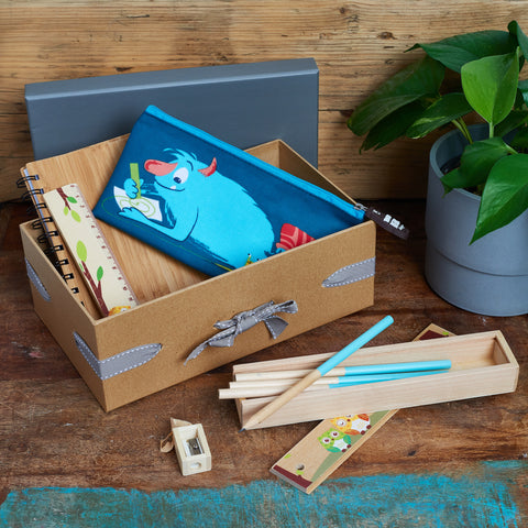 eco-friendly kids stationary set