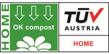 TUV home compost logo