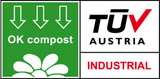 TUV industrial composting