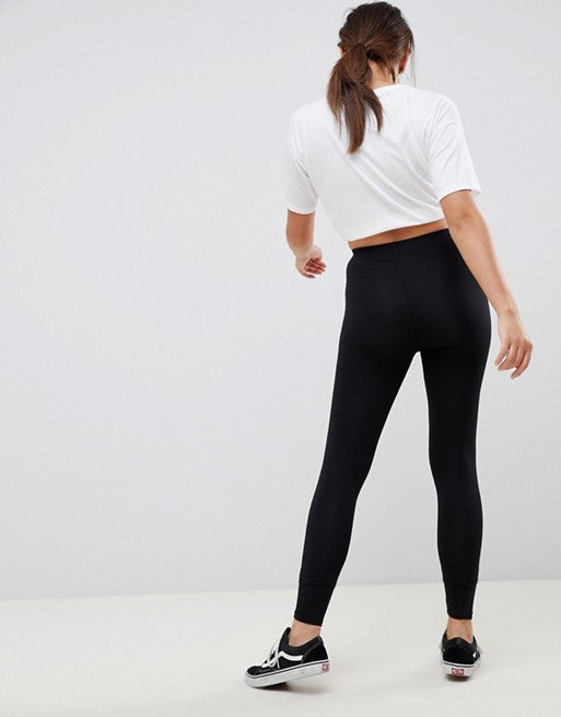FOS DESIGN premium supersoft leggings in cotton modal