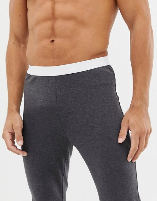 FOS DESIGN meggings in charcoal in organic cotton