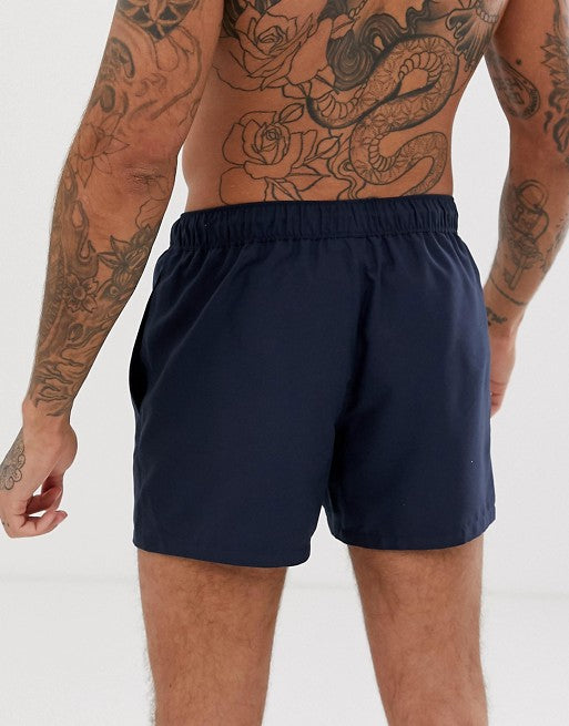 FOS DESIGN swim shorts in navy short length