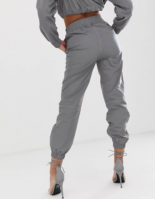 FOS DESIGN reflective tracksuit bottoms