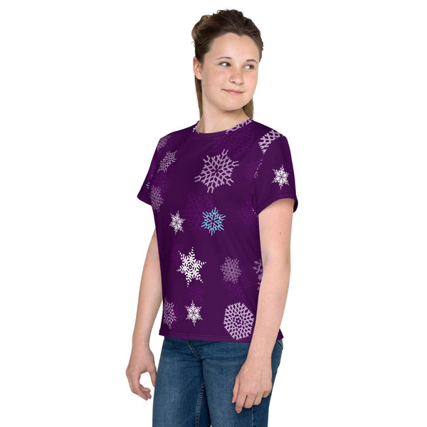 Purple Flakes Youth T-Shirt
