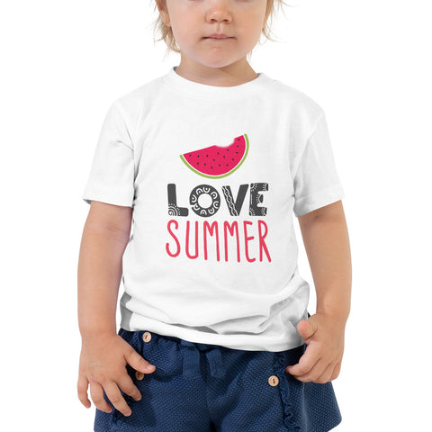Love Summer Toddler Shirt