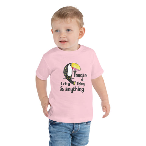 Toucan Toddler Short Sleeve Tee
