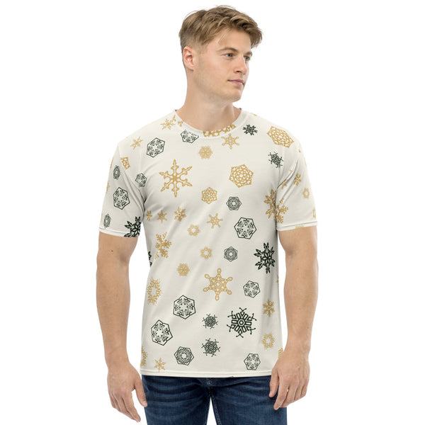 White Shaded Men's T-shirt