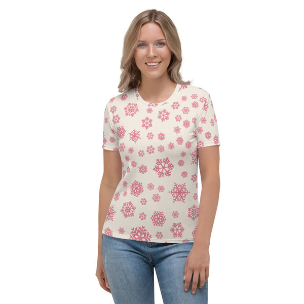 Pink flakes Women's T-shirt