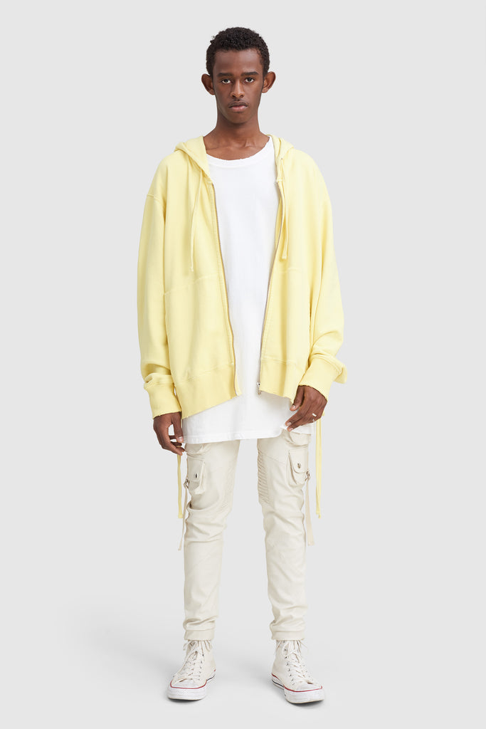 LACED OVERSIZE HOODIE SWEAT