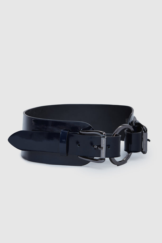 HIGH WAIST BLACK BELT