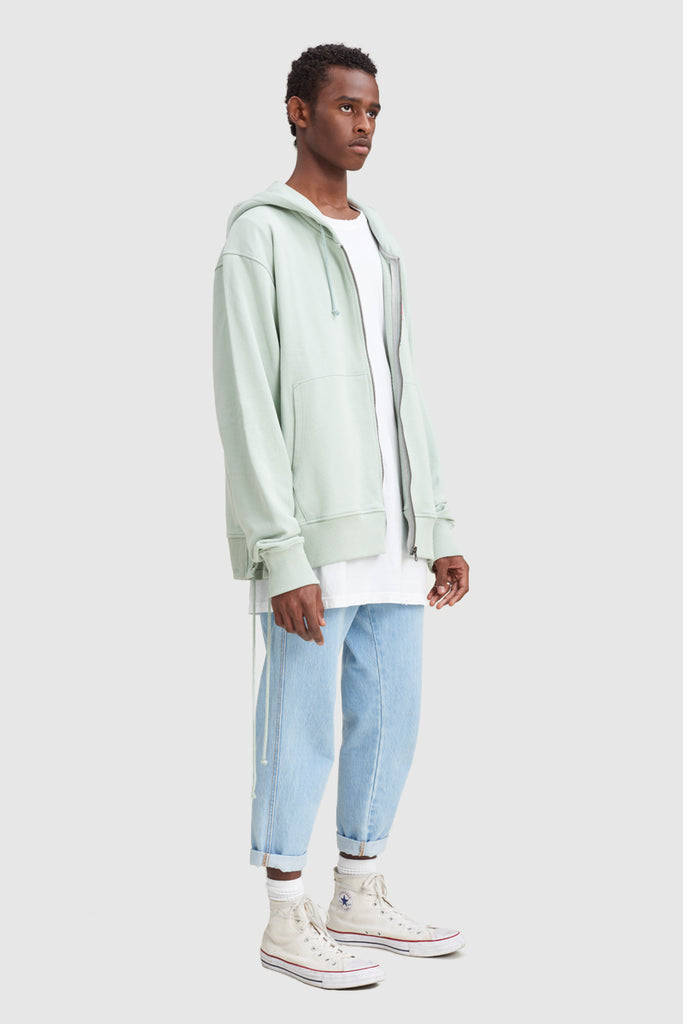 TODD JAMES ZIPPED HOODIE