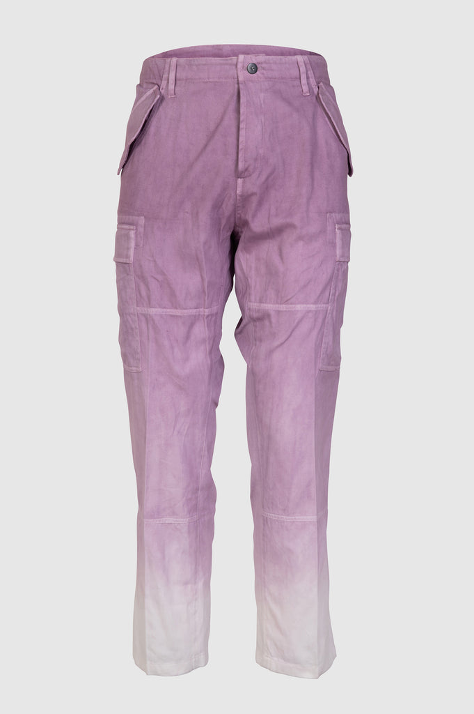 TIE AND DYE CARGO PANTS - Faith Connexion