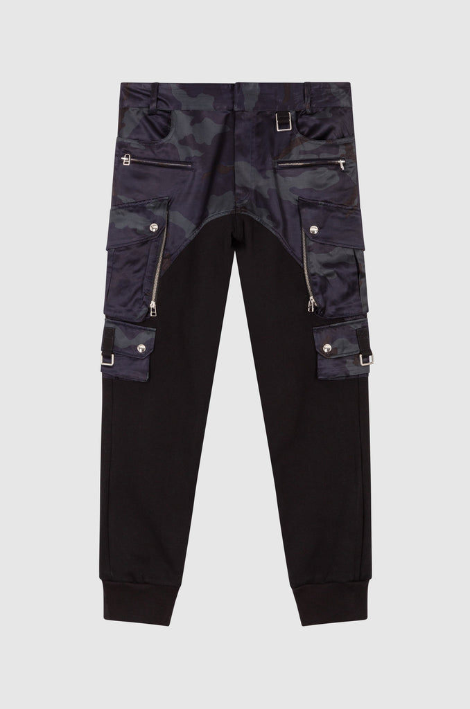 TWO-MATERIAL CARGO PANTS - Faith Connexion