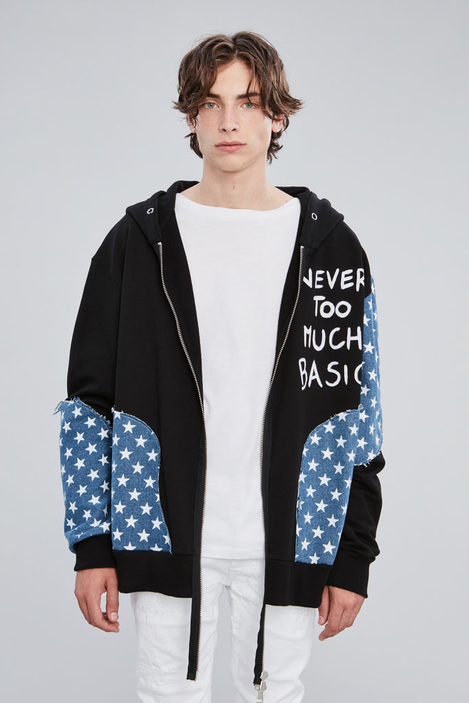 NTMB STARS HOODED SWEATER