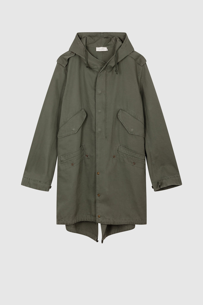 FISHTAIL COAT PARKA - Faith Connexion