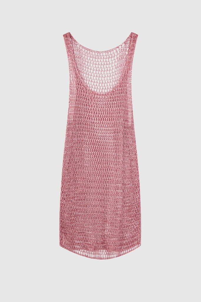 METAL KNIT TANK TOP