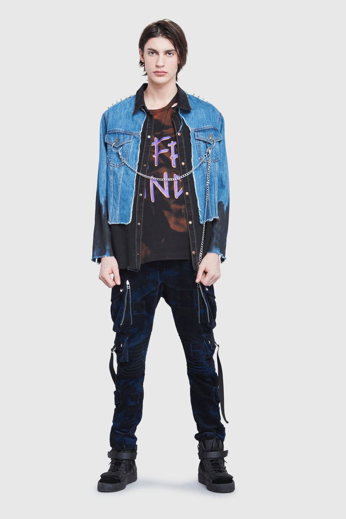 NTMB DAMNED DENIM JACKET