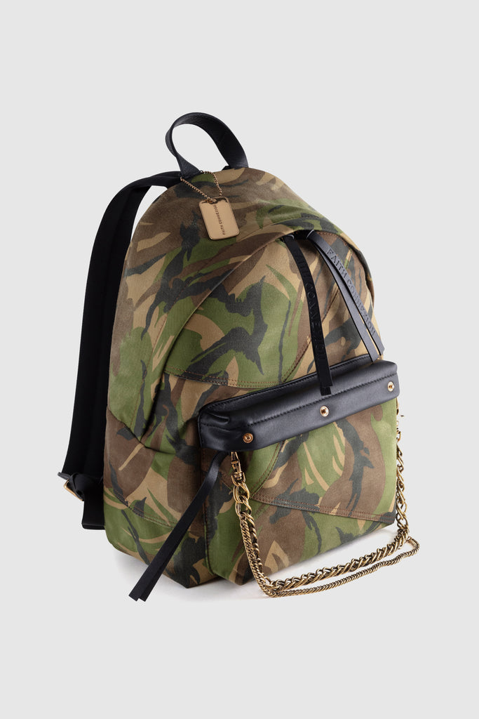 CAMOUFLAGE BACKPACK - Faith Connexion