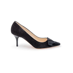 Gros Knot High Court - Black Suede