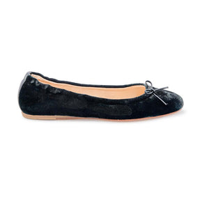 Elasticated Ballet - Black Velvet