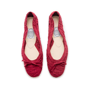 Criss Cross Ribbon Ballet - Ruby Ribbon