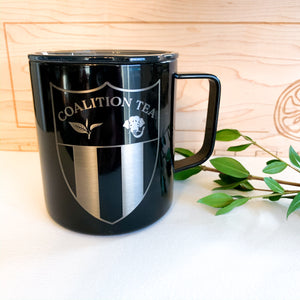 14 Oz Coalition Tea Logo Mug