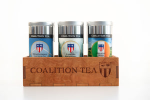 Coalition Tea Tins and Tea Gift Box