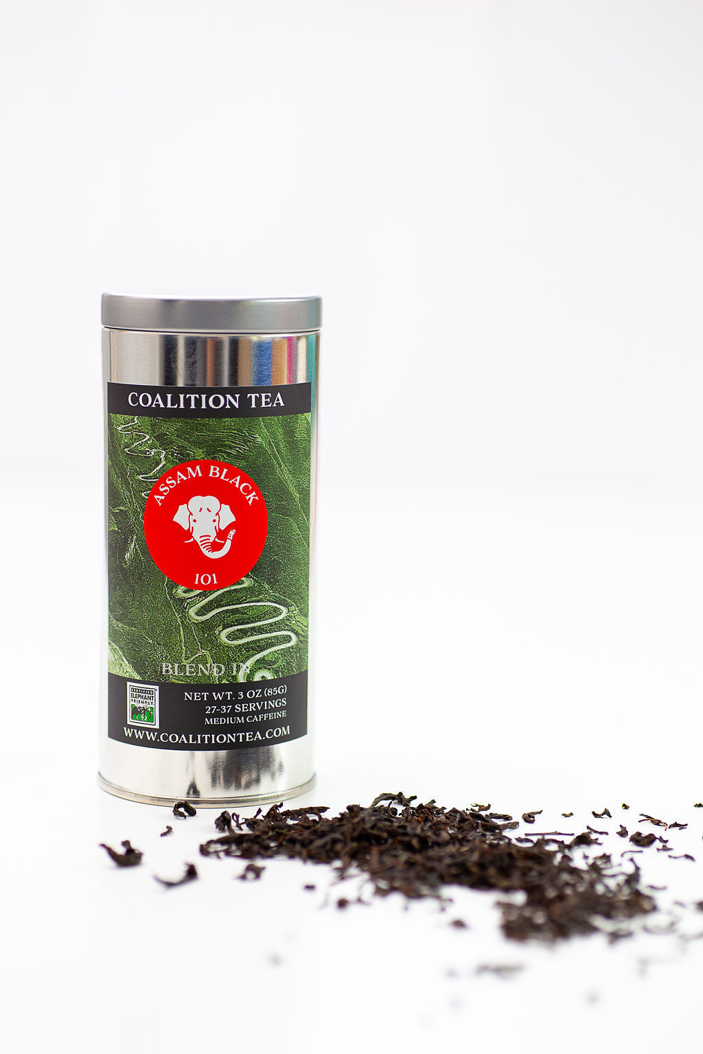 Assam Black Loose Leaf Tea, 3 oz