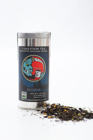 Krampus Loose Leaf Holiday Blend, 3 oz