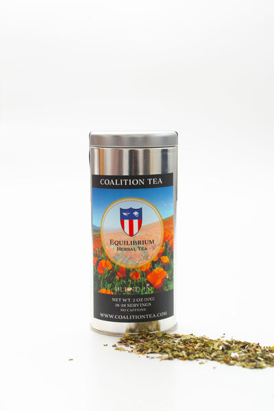 Equilibrium California Poppy Herbal Tea