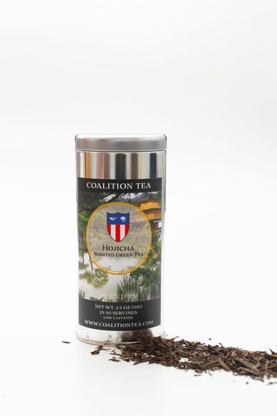 Hojicha Roasted Green Tea from Coalition Tea