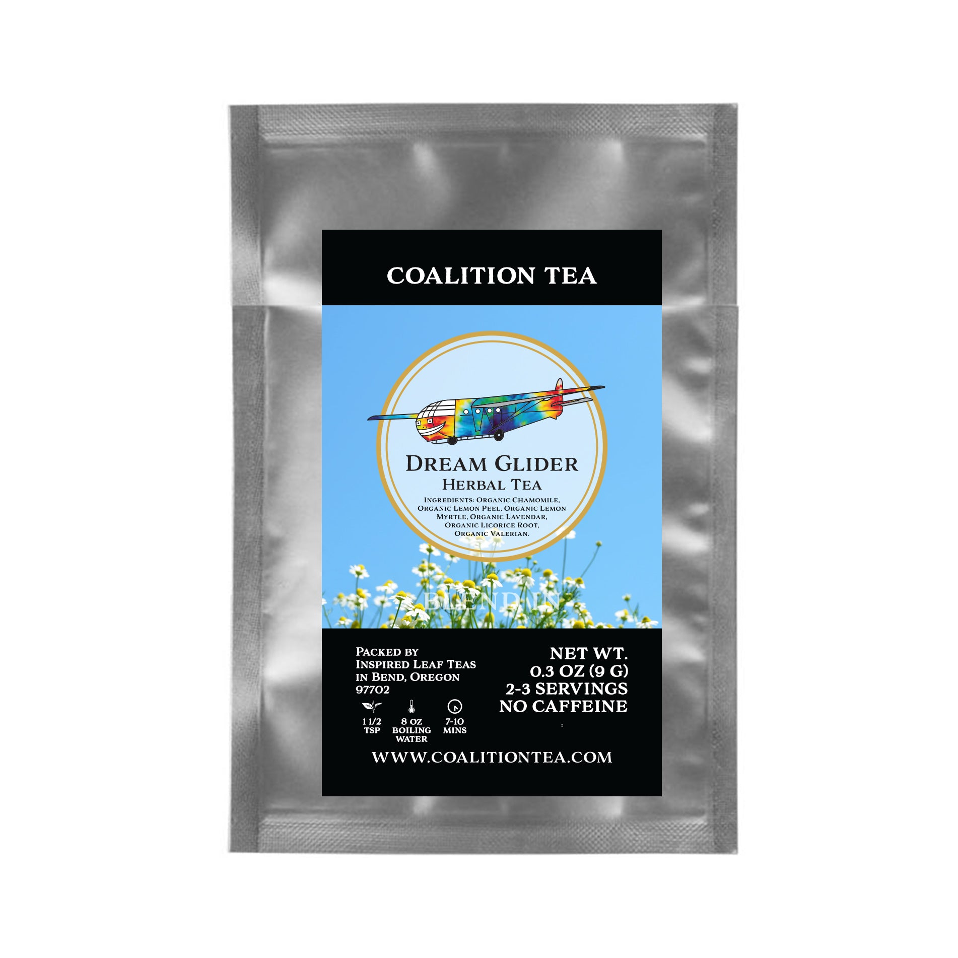 Dream Glider Loose Leaf Organic Chamomile Herbal Tea Sample