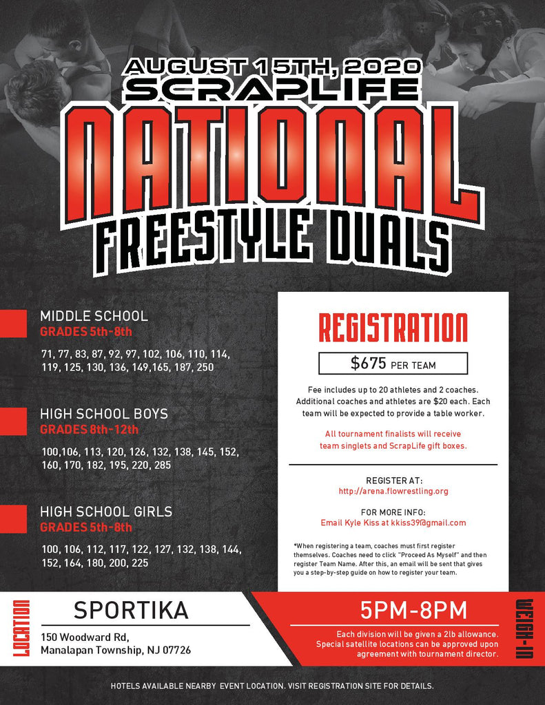 ScrapLife National Freestyle Duals