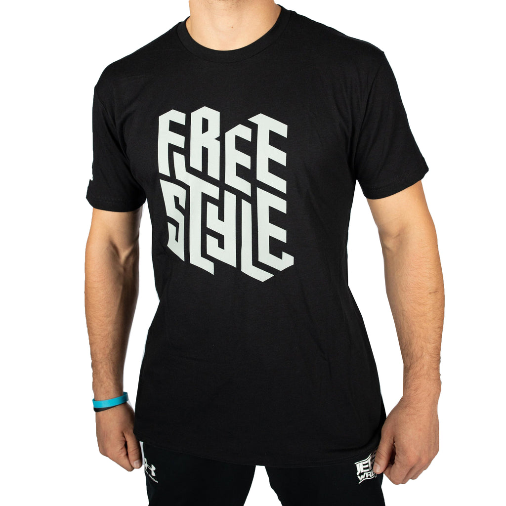 ScrapLife Men's Black Freestyle Ultrasoft Tee