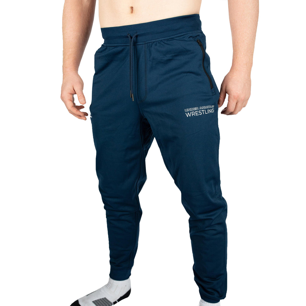 Under Armour Wrestling Men's Navy ScrapLife Performance Joggers