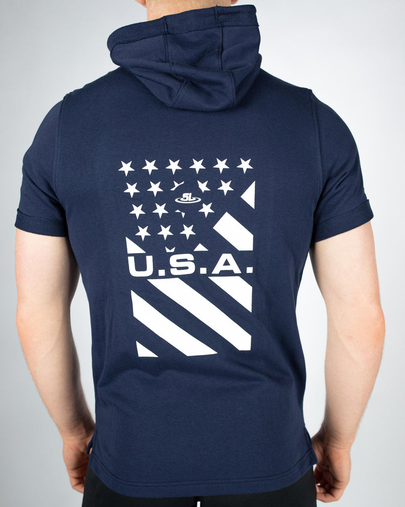Under Armour Wrestling Men's Navy USA Sportstyle Hoodie