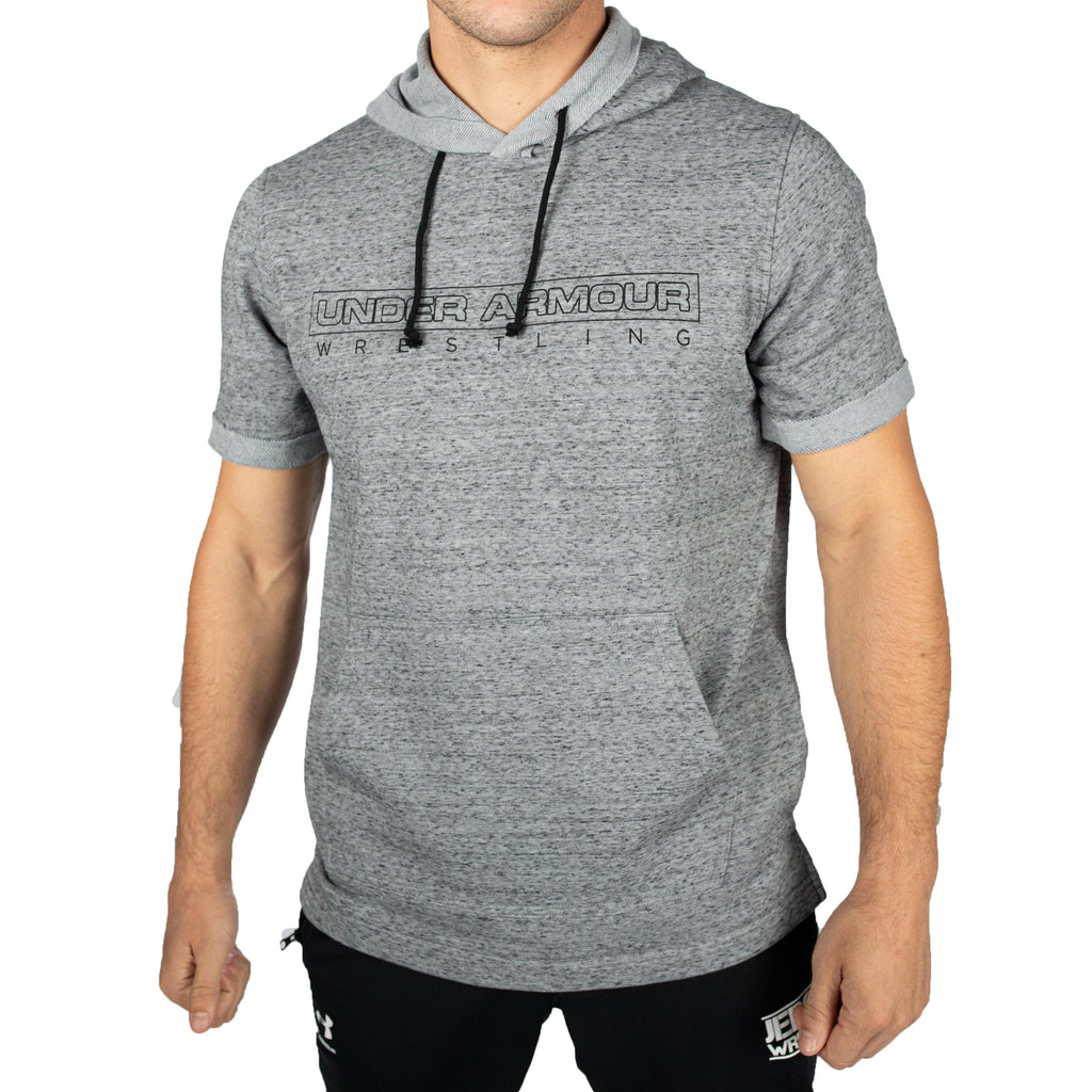Under Armour Wrestling Men's Steel USA Sportstyle Hoodie