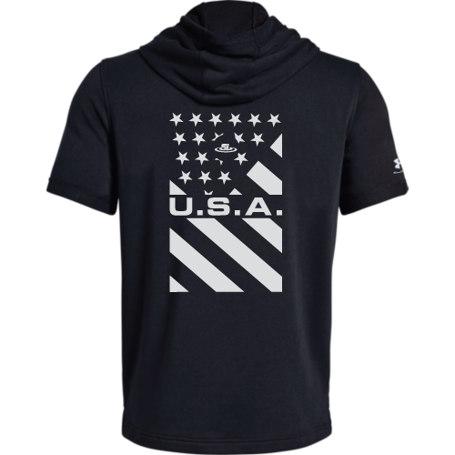 Under Armour Wrestling Men's Black USA Sportstyle Hoodie