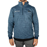 Under Armour Wrestling Men's Navy Armour Fleece 1/2 Zip