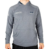 Under Armour Wrestling Men's Navy Tech Hooded Shirt