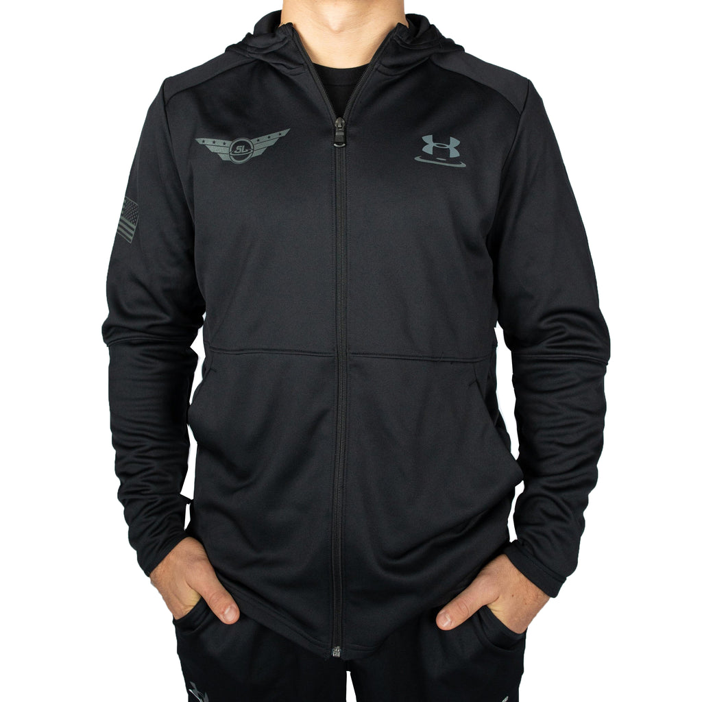 Under Armour Wrestling Men's Black Ops MK-1 Warm-up Full Zip